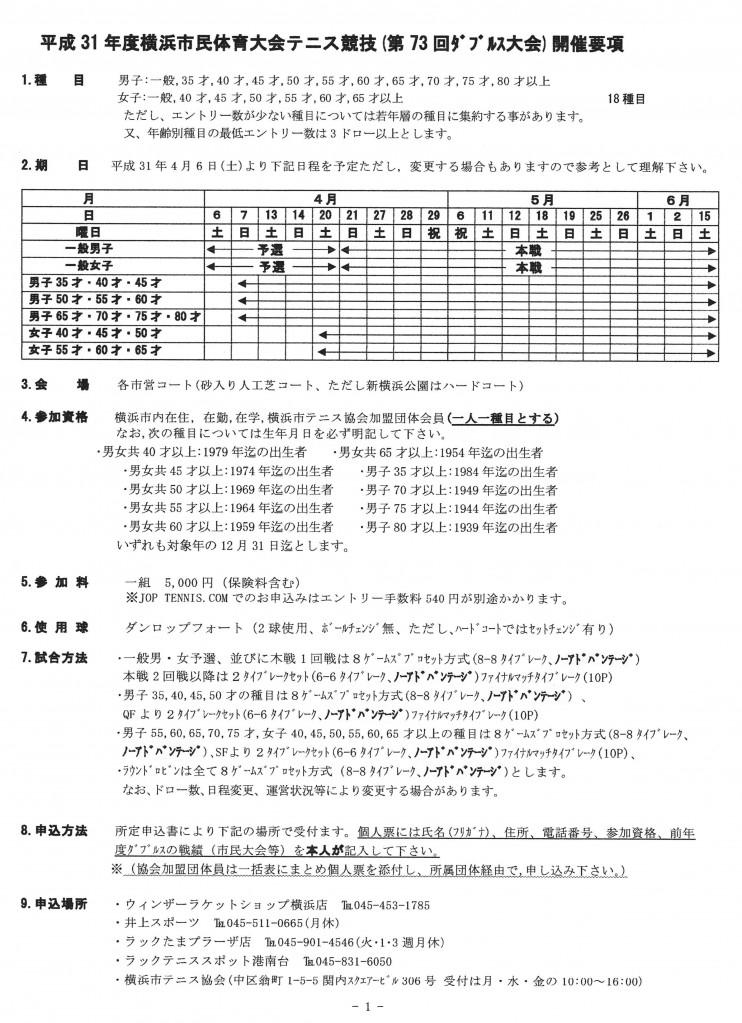 2019年横浜市民